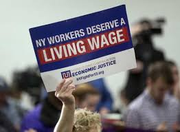 The Living Wage Campaign Rally